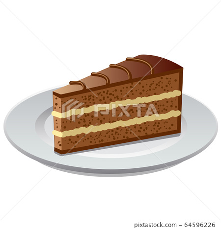 chocolate bisquit tart 64596226