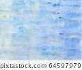Abstract background material blue color painting style (image) 64597979