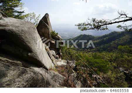 Bukhansan. National Park. 64603558