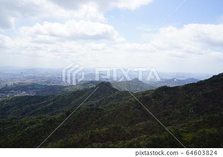 Bukhansan. National Park. 64603824