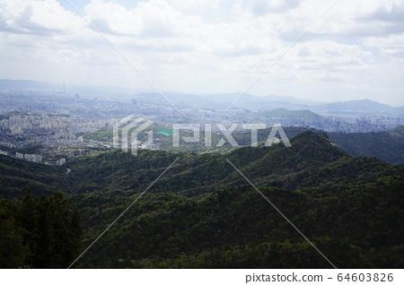 북한산.국립공원.봄이  64603826