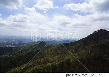 북한산.국립공원.봄이  64604005