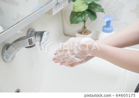 洗手 64605175