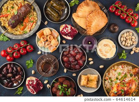 Ramadan Iftar food 64614614