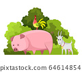 Natural resources design. Vector illustration of national treasure pet animal. Illustration of agriculture industry 64614854