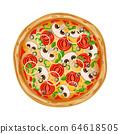 Pizza italian fast food 64618505