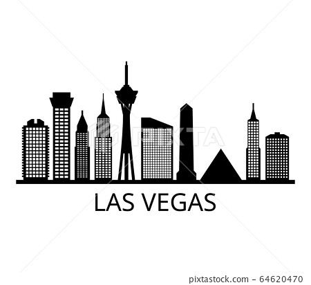 Las Vegas skyline 64620470