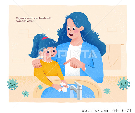 COVID-19 hygiene promo 64636271