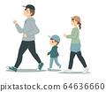 산책하는 가족 64636660