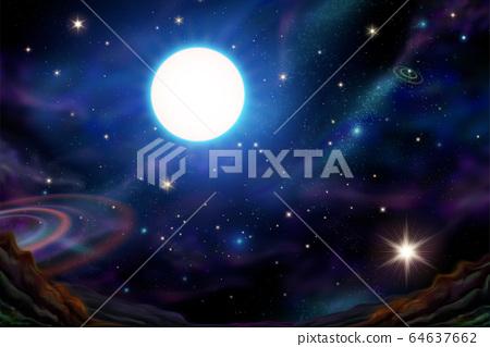 Beautiful galaxy universe sky 64637662