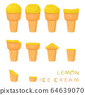 Vector illustration for natural ice cream 64639070