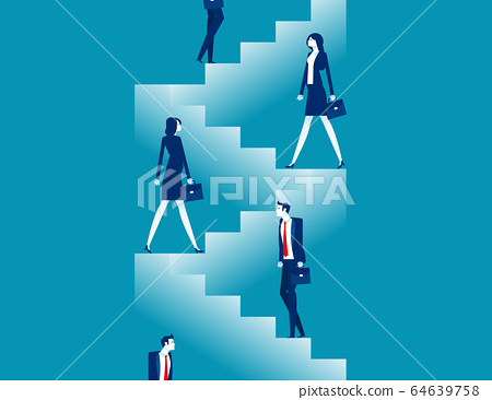 Starting for step by step. Business steps planning 64639758