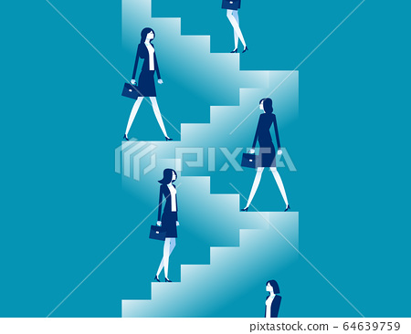 Starting for step by step. Business steps planning 64639759