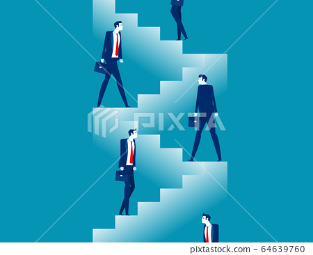Starting for step by step. Business steps planning 64639760