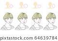 脸型发型 64639784