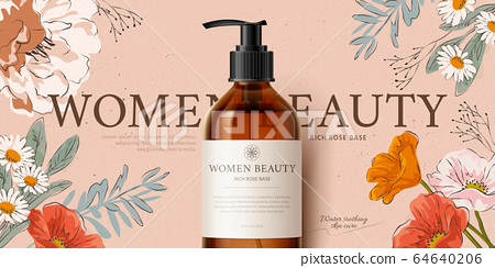 Banner ad for cleansing product 64640206
