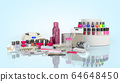 Manicure nail polishes UV lamp and various 64648450