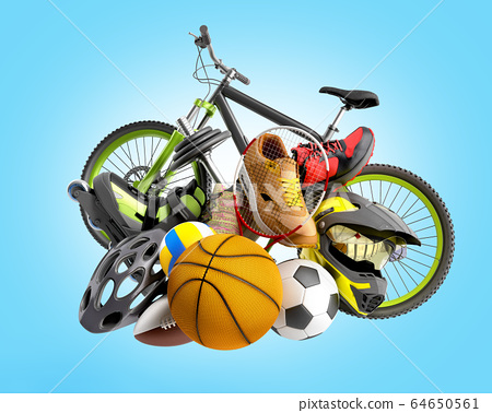 concept of product categories sports wear and 64650561