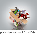 concept of product categories toys fly out of the 64650566