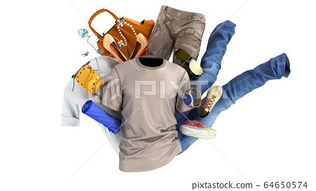 concept of product categories clothing and 64650574
