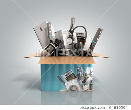 concept of product categories large household 64650594