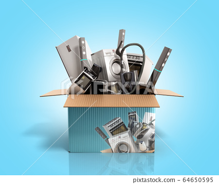 concept of product categories large household 64650595