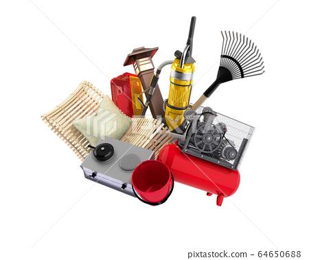 concept of product categories garden accessories 64650688