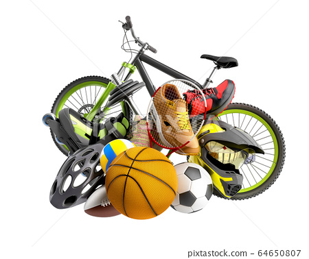 concept of product categories sports wear and 64650807