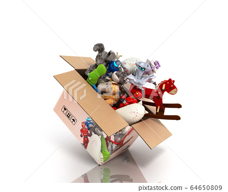 concept of product categories toys fly out of the 64650809