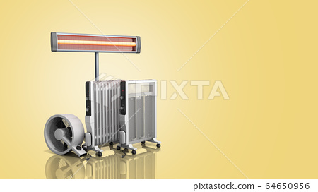 Heating devices Convection fan oil-filled and 64650956