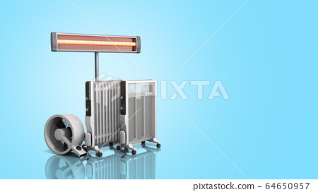 Heating devices Convection fan oil-filled and 64650957
