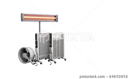 Heating devices Convection fan oil-filled and 64650958