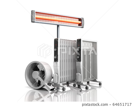 Heating devices Convection fan oil-filled and 64651717