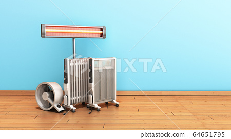 Heating devices Convection fan oil-filled and 64651795