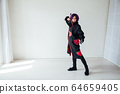 Portrait of a beautiful girl cosplayer anime Japan 64659405