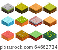 Isometric Soil Layers tile 64662734