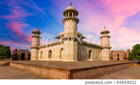 "The Baby Taj Mahal in Agra, ""Baby Taj"" mausoleum 64669022"