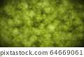 Abstract 2D art animation pieces of hues, green tone grunge texture abstract background.  64669061