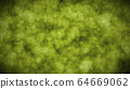Abstract 2D art animation pieces of hues, green tone grunge texture abstract background.  64669062
