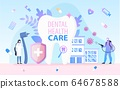 Dental Health Care and Safety Medical Service 64678588