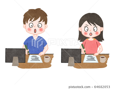 Vector Illustration College Students Class Professor Stock Vector (Royalty  Free) 154184039