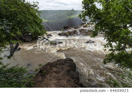 維多利亞瀑布 64689025