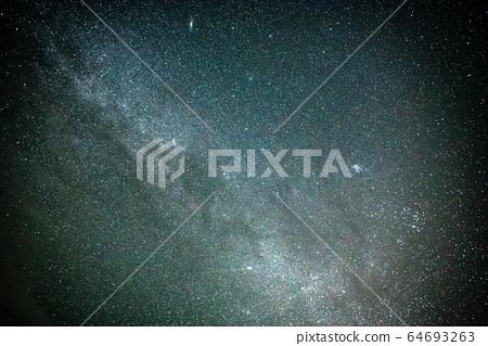 Milky way in summer 64693263