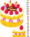 Two kinds of cake crayons 64694701