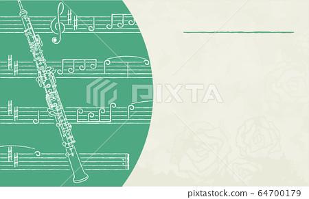 名稱標籤模板單一綠色3 [Oboe] 64700179