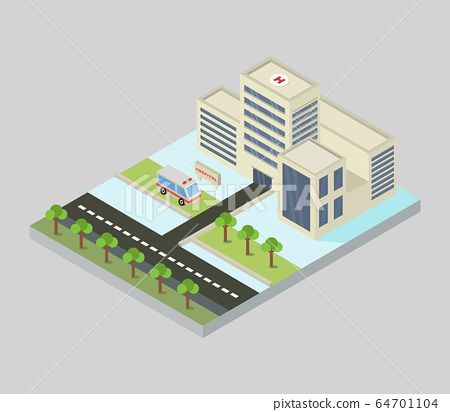 hospital icon 64701104