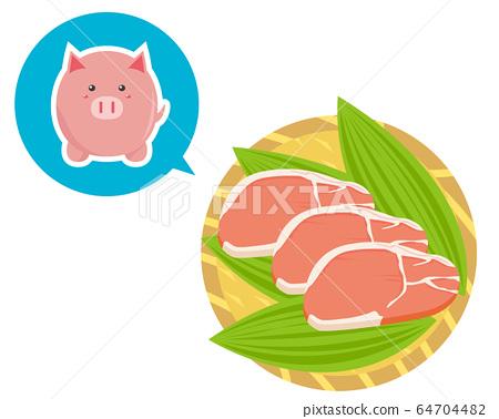 豬里脊肉厚片 64704482