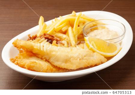 魚和薯條 64705313