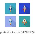 rocket icon 64705974