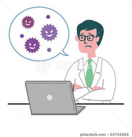 Doctor Doctor Male PC病毒有麻煩 64708988